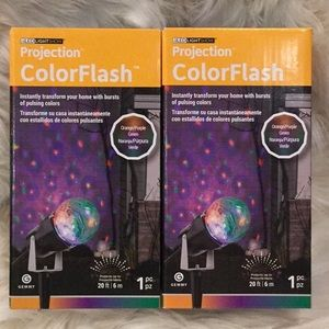 🆕Gemmy Projection Colorflash Kaleidoscope Lights
